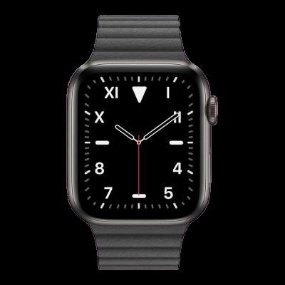 watch series 5 40mm titanium gps only